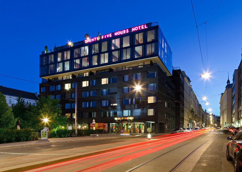 Wien 25 stunden hotelspektakel a list for 3 designhotel wien