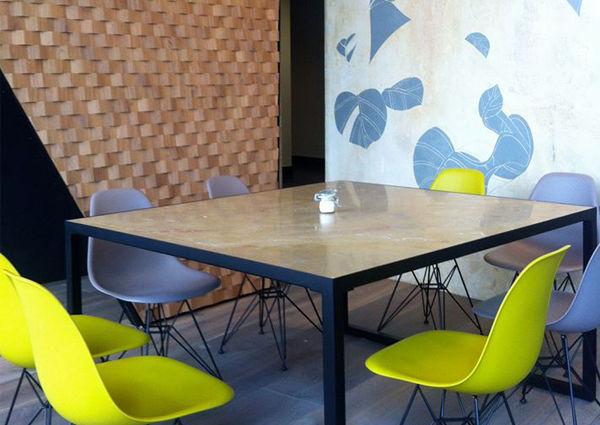 wien: ein café vom innenarchitekten - a-list, Innenarchitektur ideen