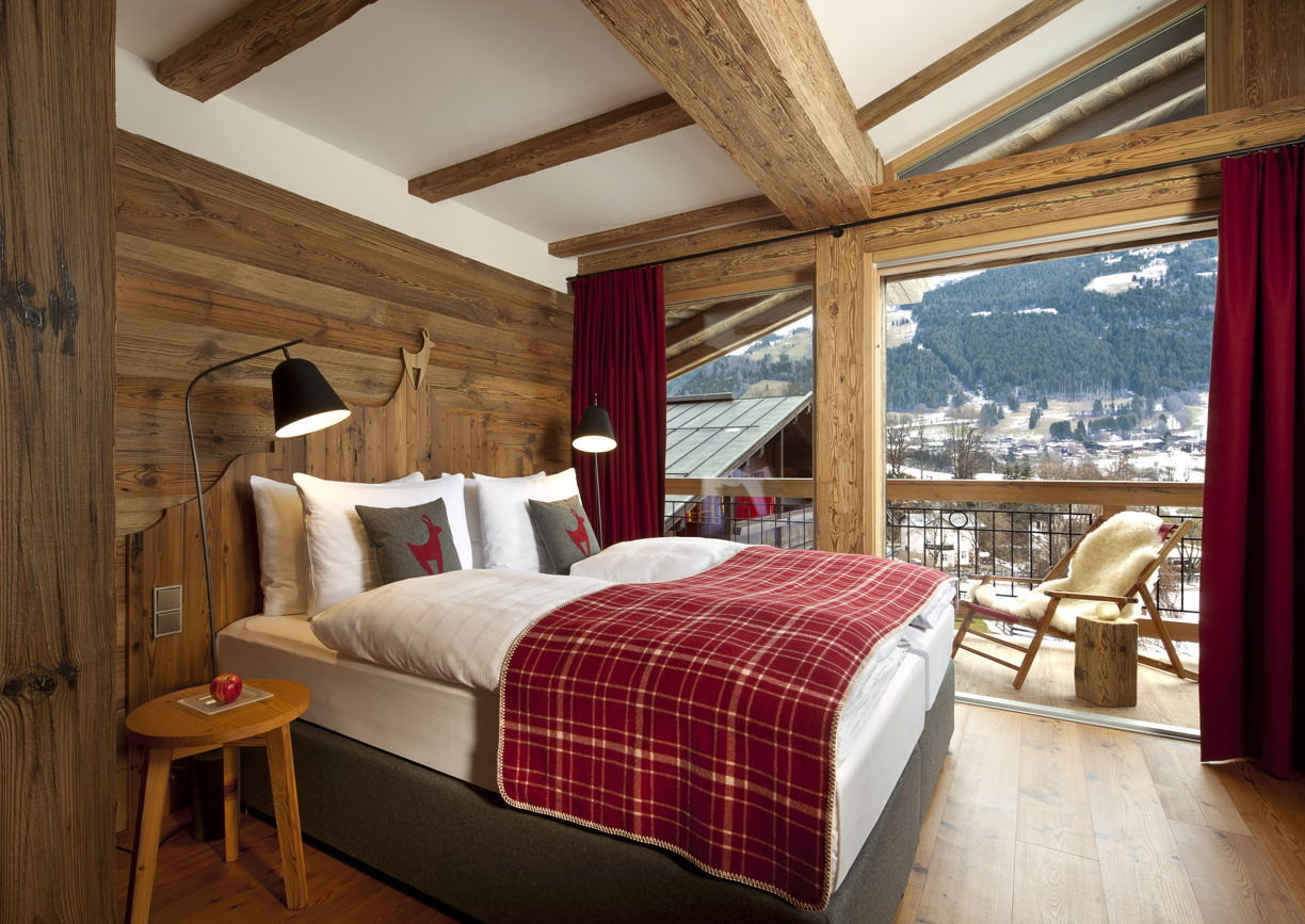 Loftstudios f r den kitzhof a list for Boutique hotel alpen