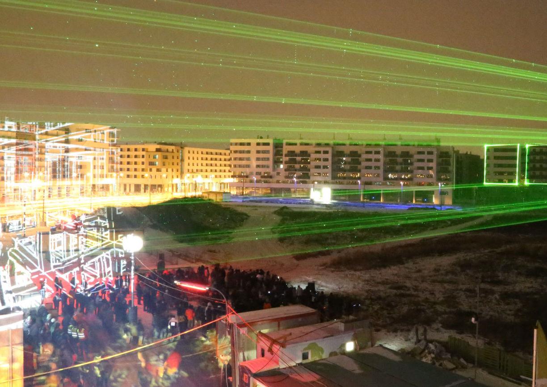 Neon Golden, Laser City, Aspern Seestadt, Salotto Vienna