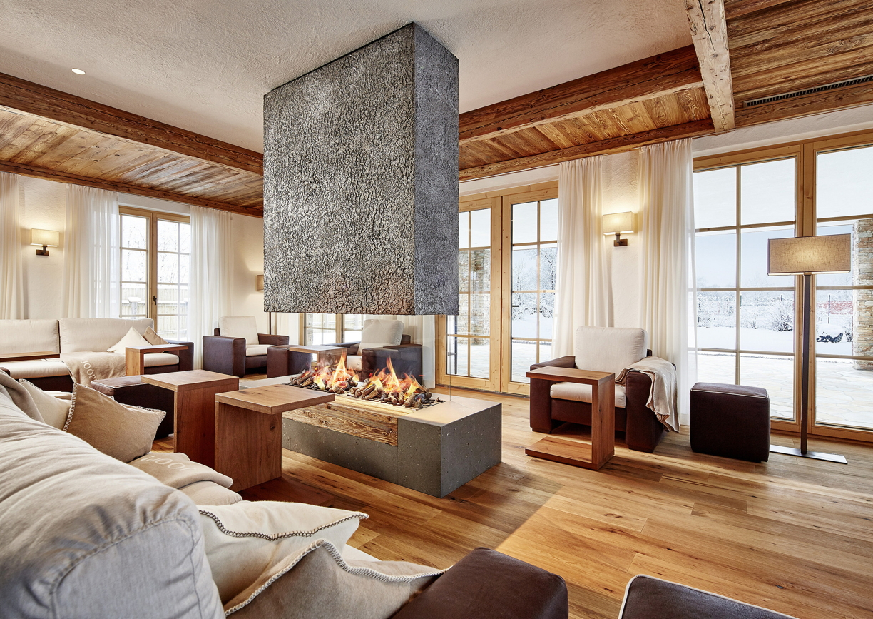 Ein neues spa chalet f r den jagdhof a list for Design hotel stubaital