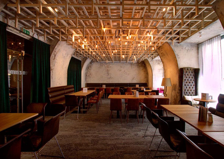 Linz neues lokal im ursulinenhof a list for Design hotel essen