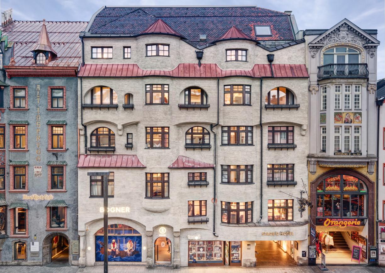 Innsbruck stadthotel stage12 mit kreativkoch a list for Design hotel innsbruck