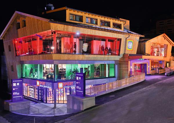 Obertauern fashion im freudenhaus a list for Design hotel obertauern