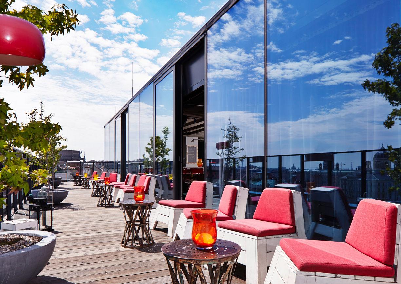 25hours Hotel Wien Dachboden Bar