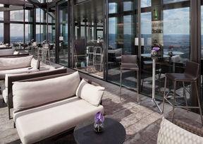 57 Lounge Hotel Meliá Vienna Dachterrasse