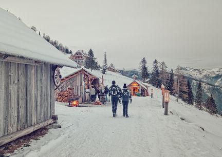 Adventmärkte Katschberger Adventweg Winter