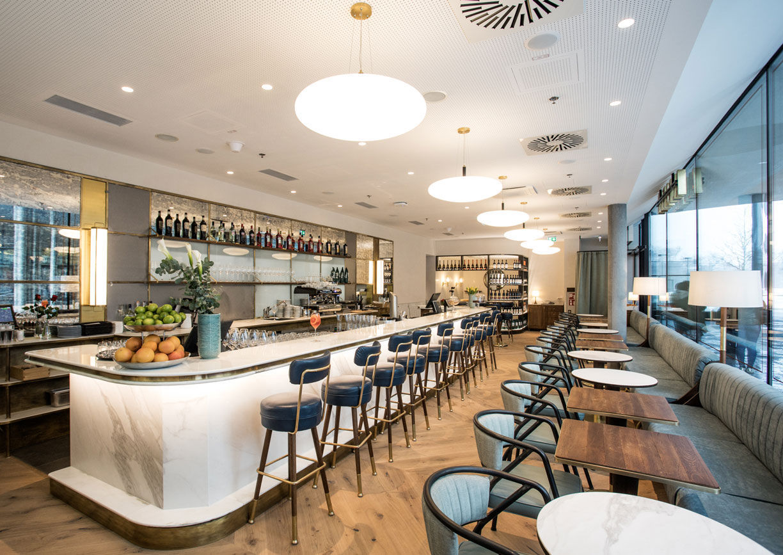 Al Banco Bar Quartier Belvedere Wien Innenansicht