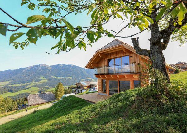 Almresort Baumschlagerberg Vorderstoder Oberoesterreich Hotel Aussenansicht Chalet
