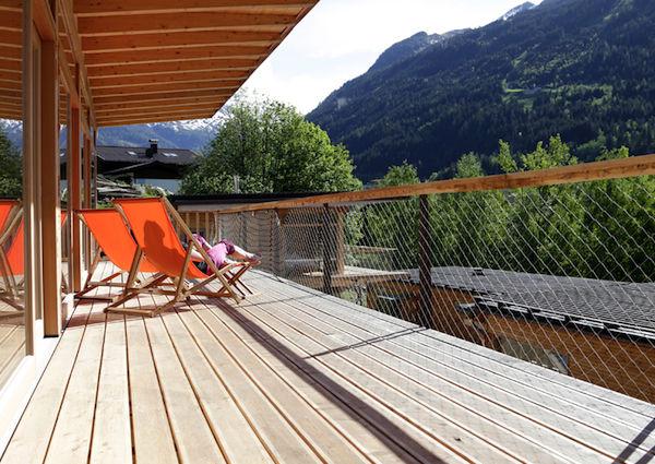 Alpenlofts, Terrasse, Bad Gastein, Loft, Chalet, Evelyn und Ike Ikrath