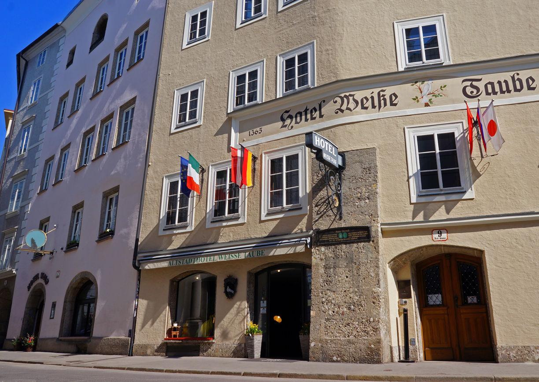Altstadthotel Weisse Taube Salzburg Aussenansicht