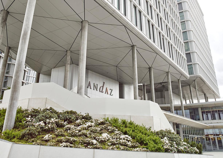 Andaz Vienna am Belvedere Hotel Aussenansicht Wien