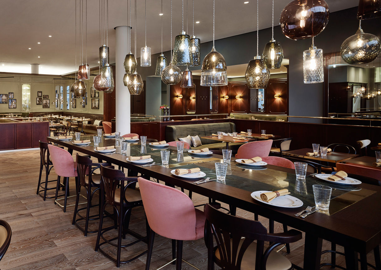 Andaz Vienna am Belvedere Hotel Restaurant Eugen21 Wien