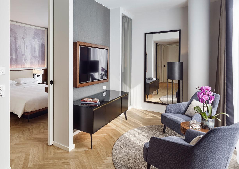 Andaz Vienna am Belvedere Hotel Zimmer Wien