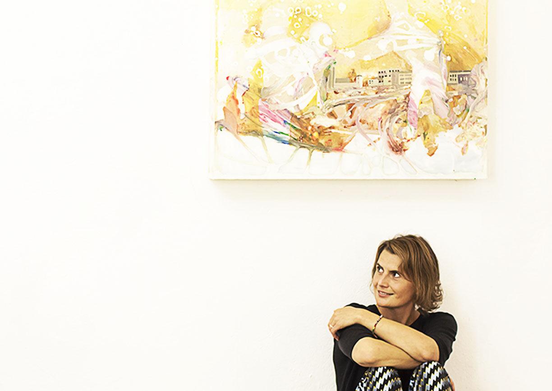 Andrea von Goetz und Schwanenfliess, Kunstsammlerin, Bad Gastein, sommerfrischekunst