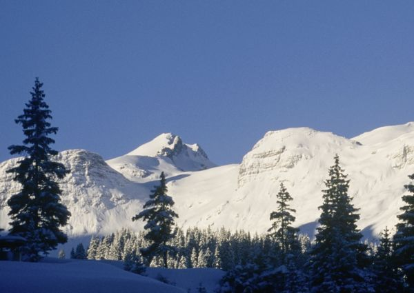 Arlberg im Winter