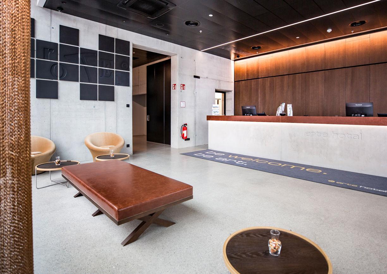 Arte Hotel Salzburg Lobby Innenansicht