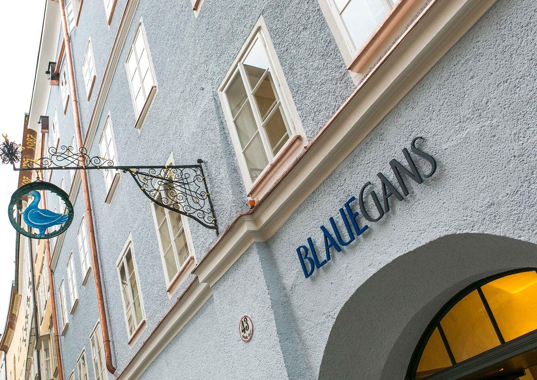 Arthotel Blaue Gans Salzburg Aussenansicht