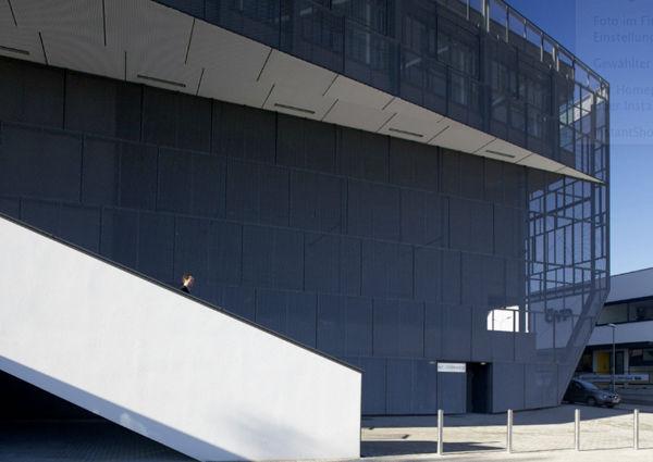 Außenansicht Kultur- und Kongresszentrum Eisenstadt