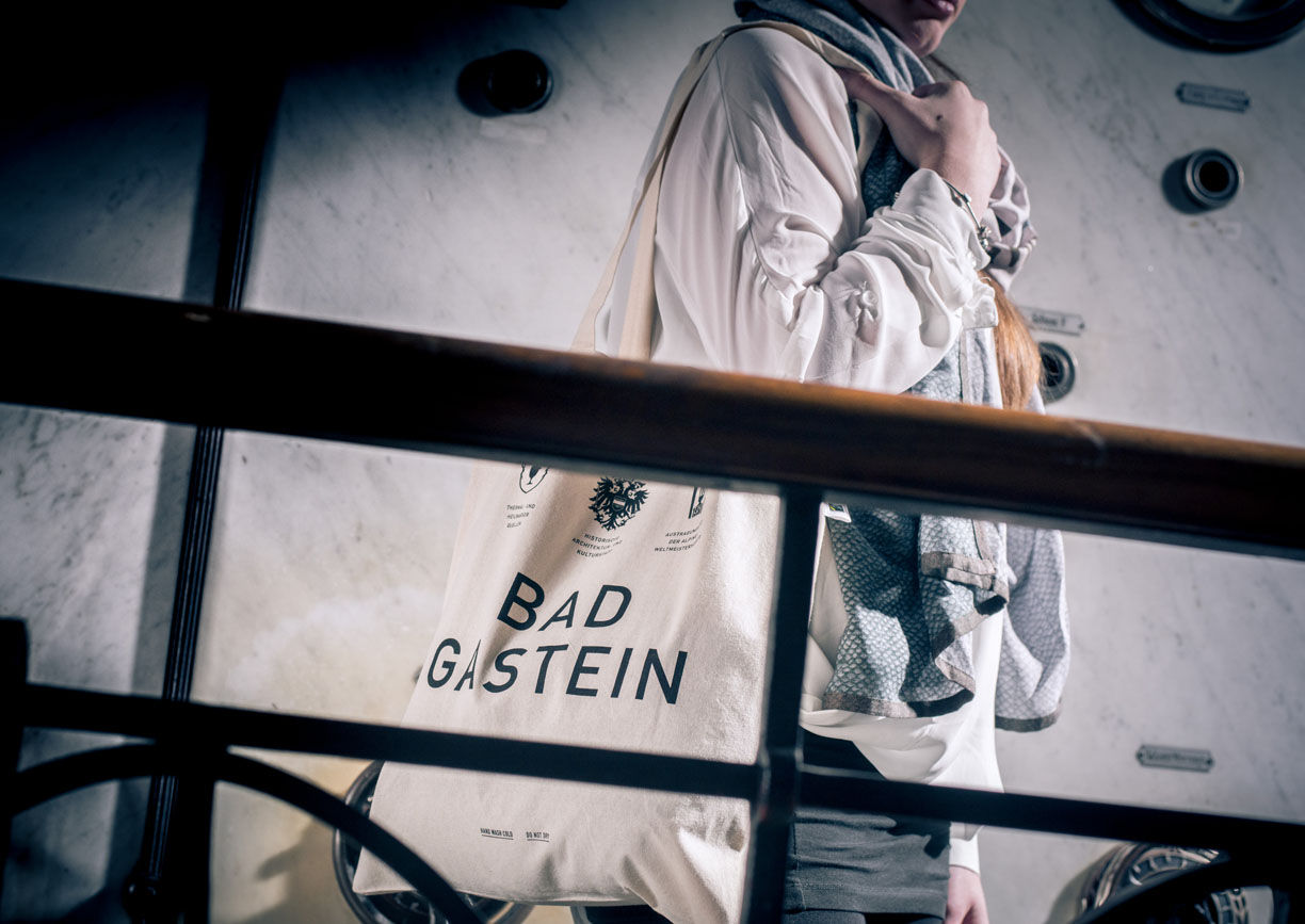 Bad Gastein, Tasche, Organic Cotton