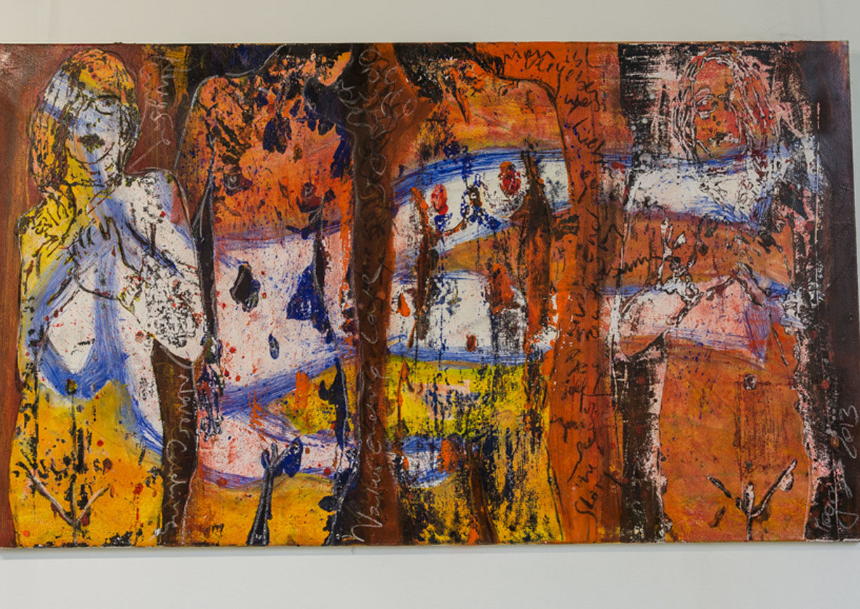 Bad Gleichenberg, Hauptplatz, Galerie, Agora, Kunstverein, Ely Magos, Malerei