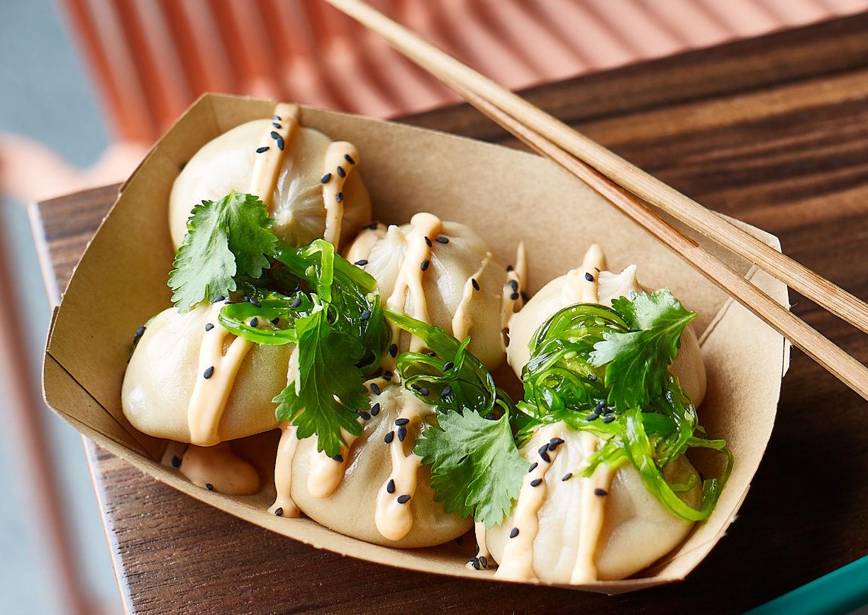Ballroom Damn Good Dumplings Wien Restaurant Lokal Teigtascherl Essen
