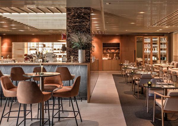 Bar con Cucina Pastamara Wien Ritz Carlton Innenansicht