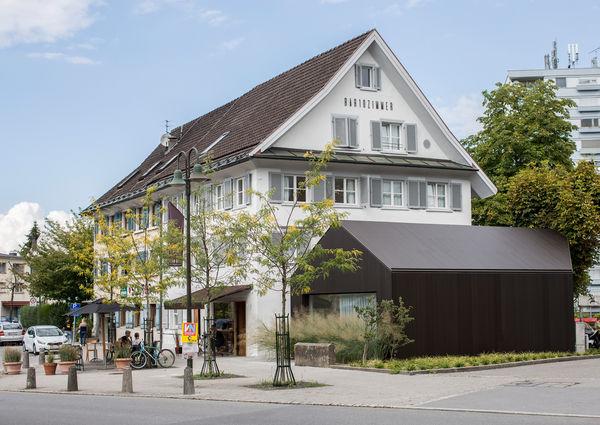 Bar10Zimmer Hotel Restaurant Bar Dornbirn Vorarlberg Aussenansicht