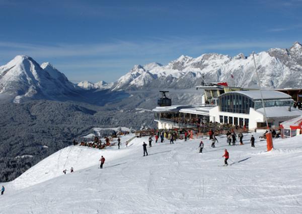 Bergbahnen Rosshütte, Seefeld, Tirol, Almhütte