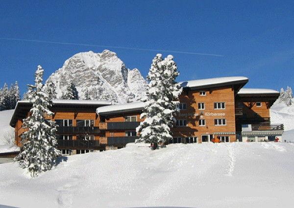 Berghotel Körbersee, Arlberg, Bregenzerwald, Almhütte, Warth-Schröcken, Lech Zürs