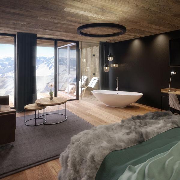 Bergrestaurant Mountain View Hochzillertal Luxus Apartments Tirol