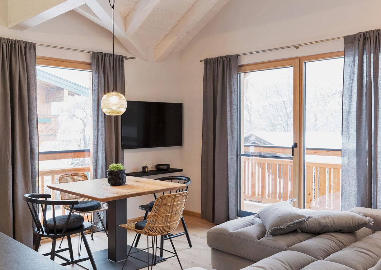 Bewegte Berge Apartments Saalfelden Innenansicht