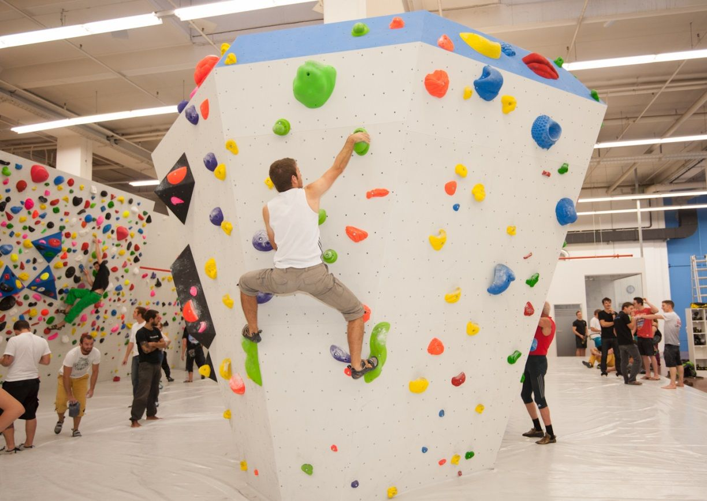 Boulderclub Graz größte Boulderhalle