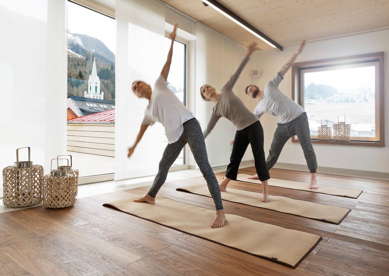 Boutiquehotel Brunner Schladming Yoga