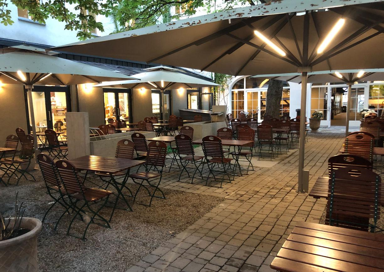 Brauhof Wien Fünfhaus Restaurant Biergarten