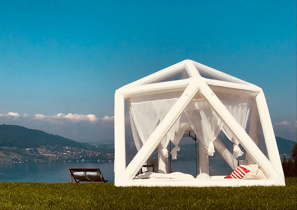 Bubble Tent Hotel Steinbach am Attersee