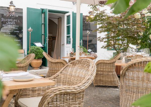 Buxbaum Restaurant Wien Gastgarten