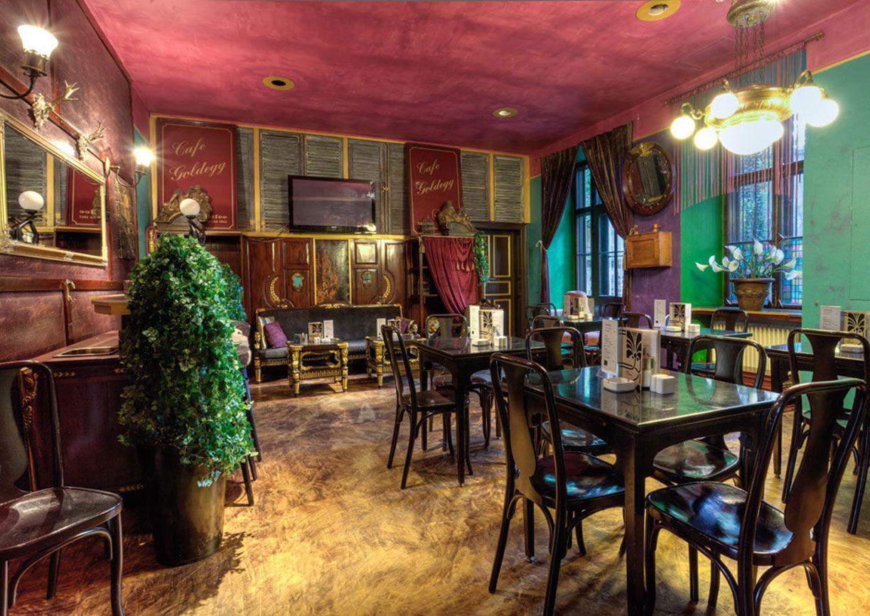 Café Goldegg Wien Innenansicht