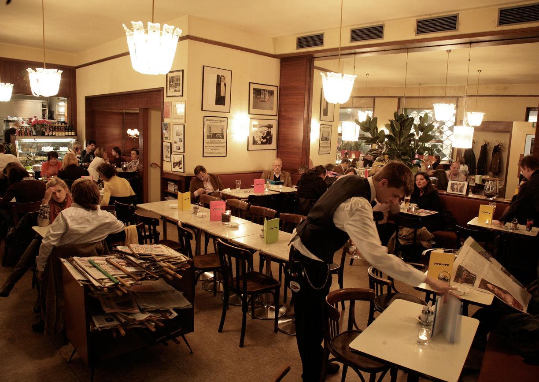Café Korb Wien Innenansicht