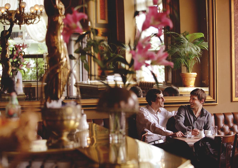 Cafe Savoy Wien Innenansicht