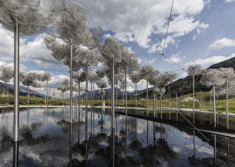 Cao Perrot, Swarovski Kristallwelten, Wattens, Tirol, Wolke