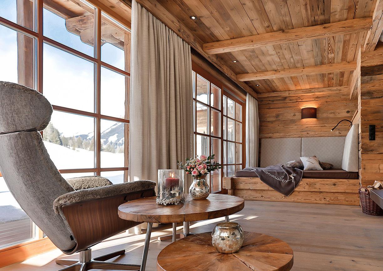 Chalet Resort LaPosch Tirol Winter Hideaway Innenansicht