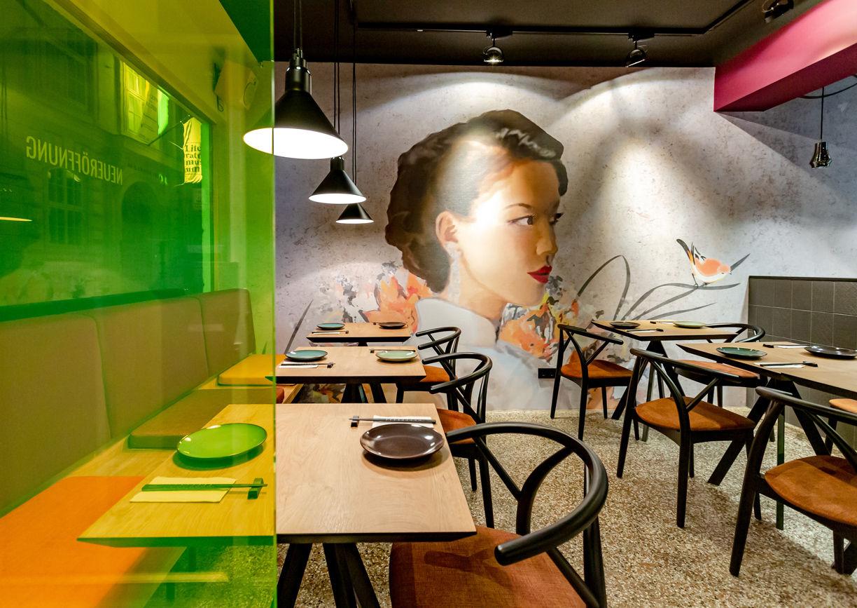 Chinacy Restaurant Wien Innenansicht