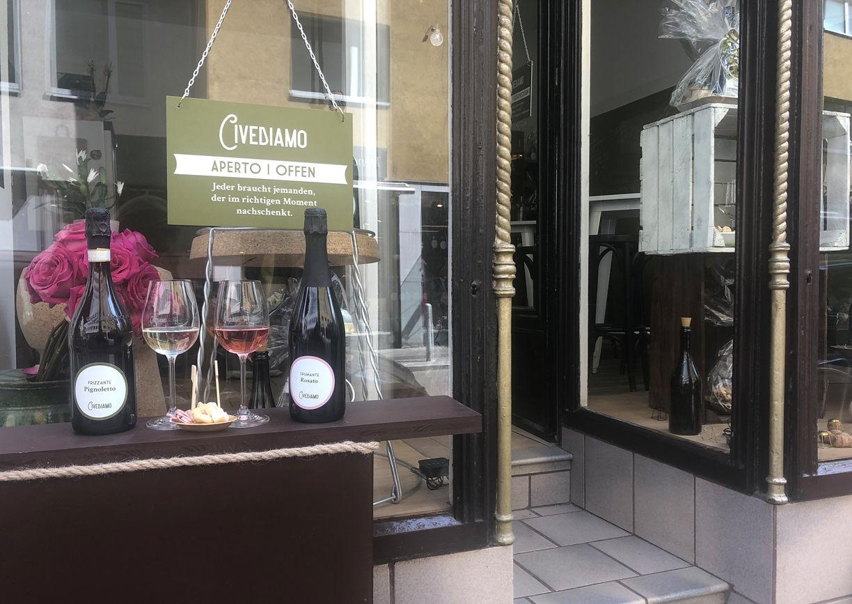 Civediamo Wine Trade Wien Aussenansicht
