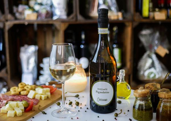 Civediamo Wine Trade Wien Innenansicht