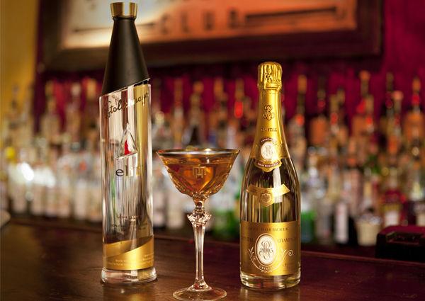 Cristal Champagner Roederer Stolichnaya Planter's Club