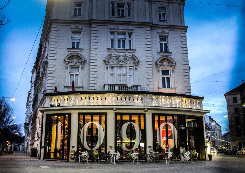 Das 1090 Wien Lokal Restaurant Aussenansicht