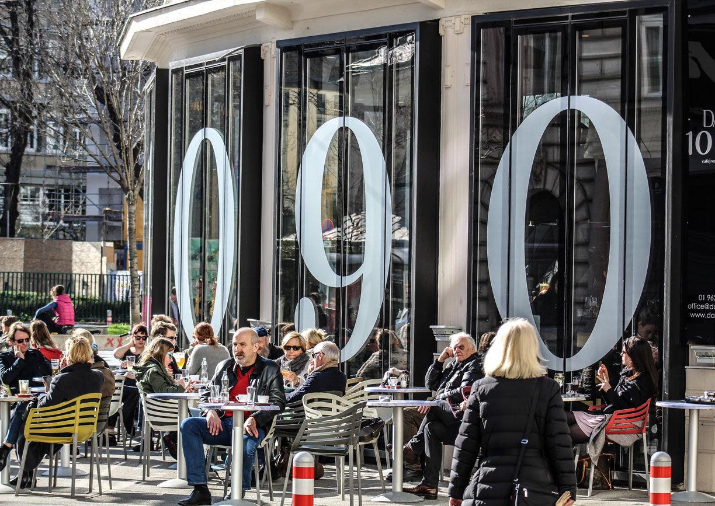 Das 1090 Wien Lokal Restaurant Gastgarten