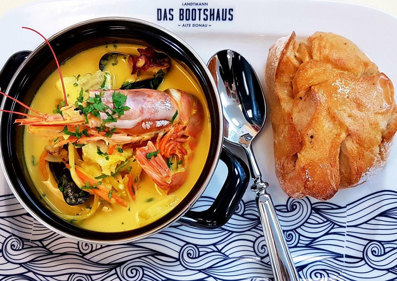 Das Bootshaus Wien Restaurant Essen
