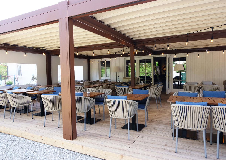 Das Bootshaus Wien Restaurant Pergola